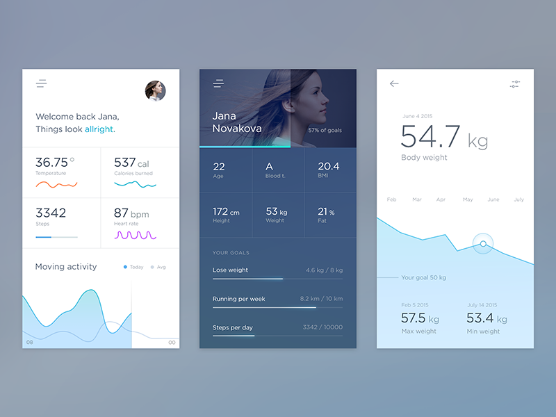 Health Calendar Design : Collect ui daily inspiration collected from