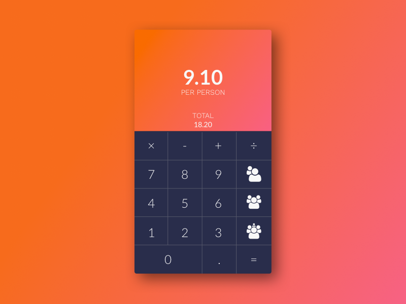Calculator By Rodrigo Franco