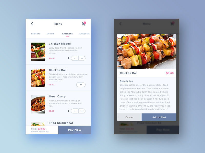 Collect UI - Daily inspiration collected from daily ui