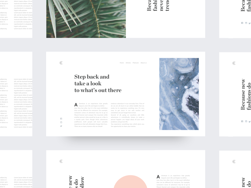 Blog Post >> Collect Ui Daily Inspiration Collected From Daily Ui Archive And