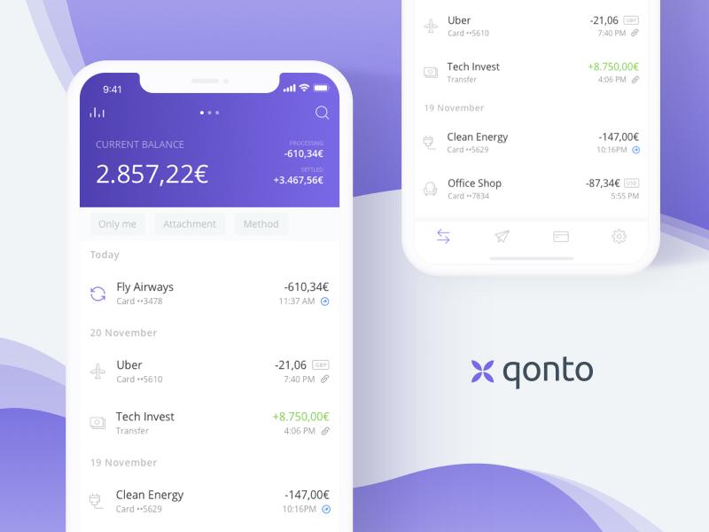 application qonto