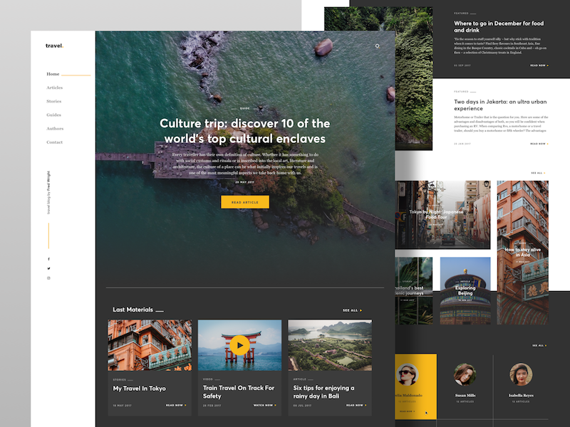 Collect UI - Daily inspiration collected from daily ui archive and